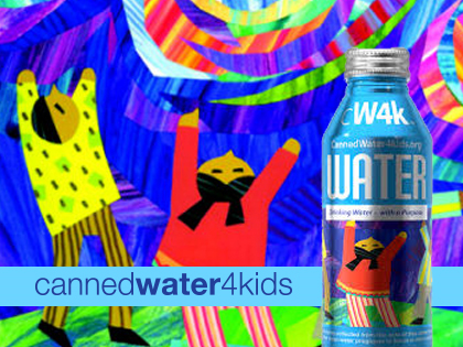 Canned Water 4 Kids Update 2016